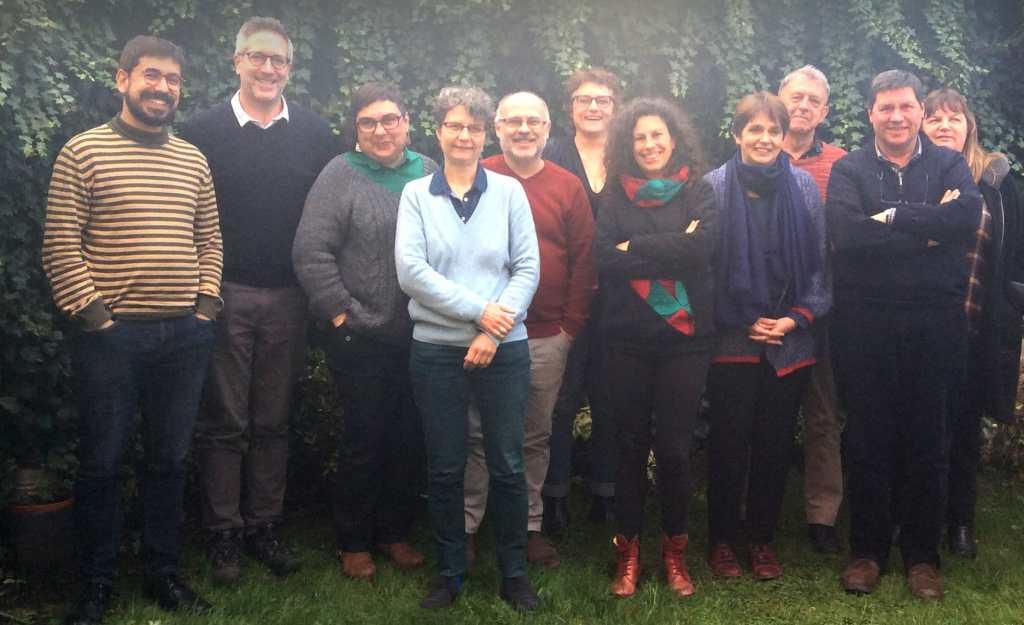 Les participants à la réunion du 26 février 2020 à Bruxelles.